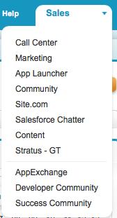 Stratus - GT menu option