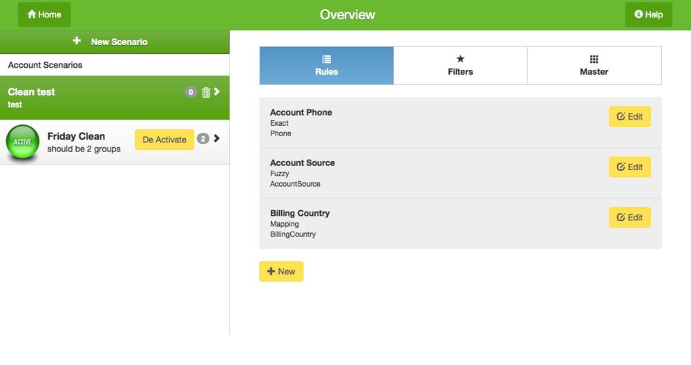 Create advanced search criteria to identify all your duplicates.