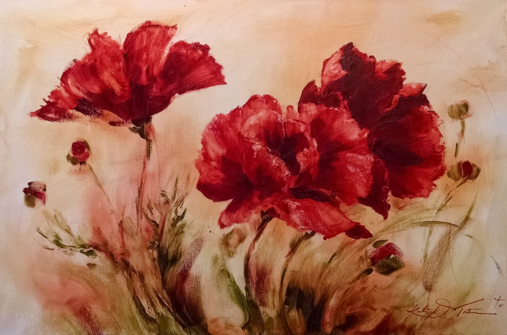 Old Style Poppies
