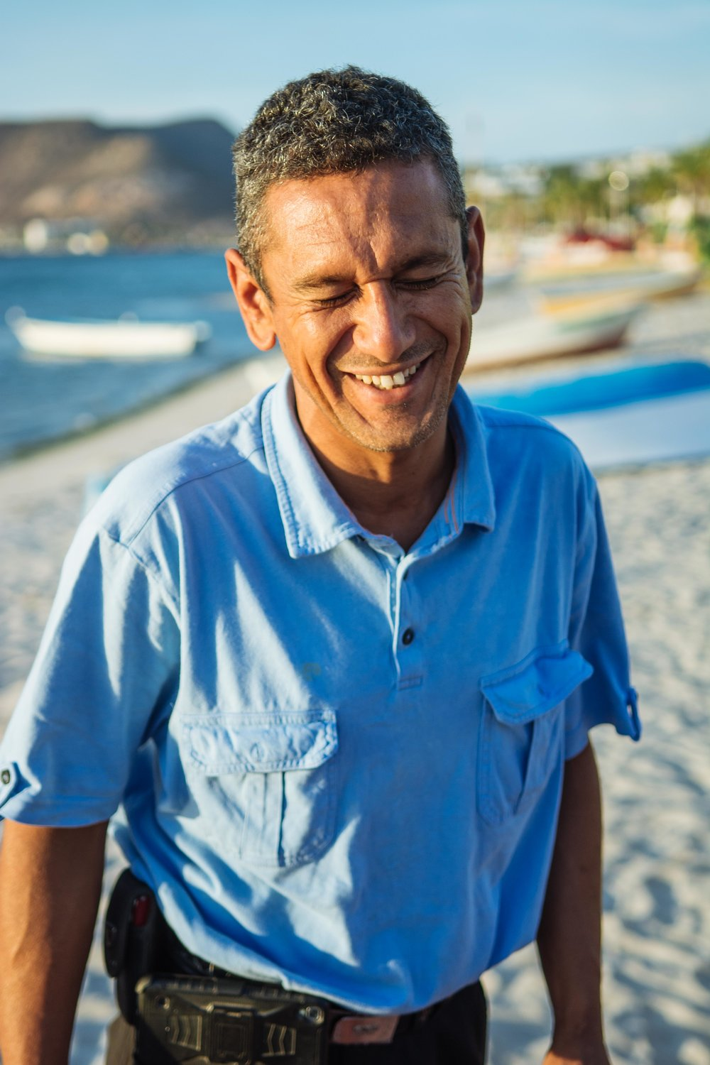 Ernesto Gastellum has over 70 family members in three different generations in the fishing industry