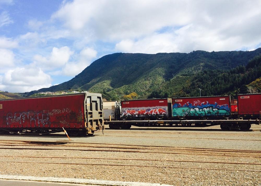 Freight Graffiti in Picton