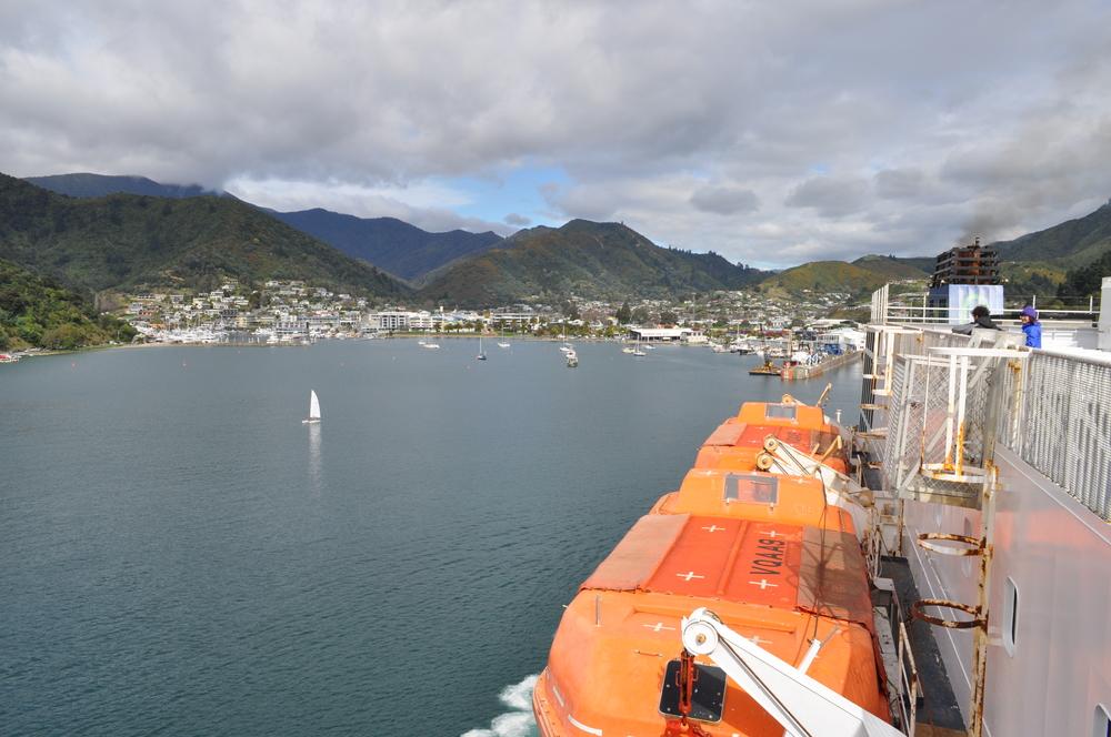 Approaching Picton