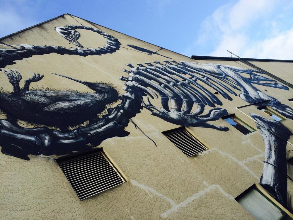 ROA Mural in Christchurch