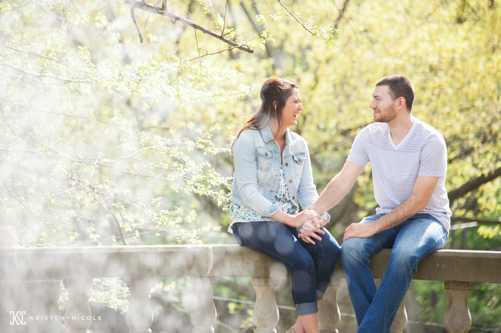 Rebecca + Tyler // Cleveland Engagement Session