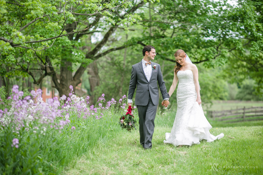 Bracken village wedding