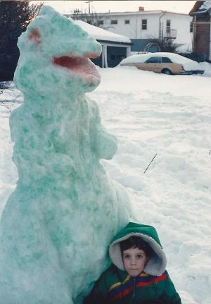 """I used to use mix food coloring with water and use spray bottles to color our snow creatures.""  - Susan W."