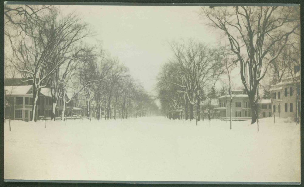 South Street, Litchfield, circa 1900.  Collection of the Litchfield Historical Society, Litchfield, Connecticut