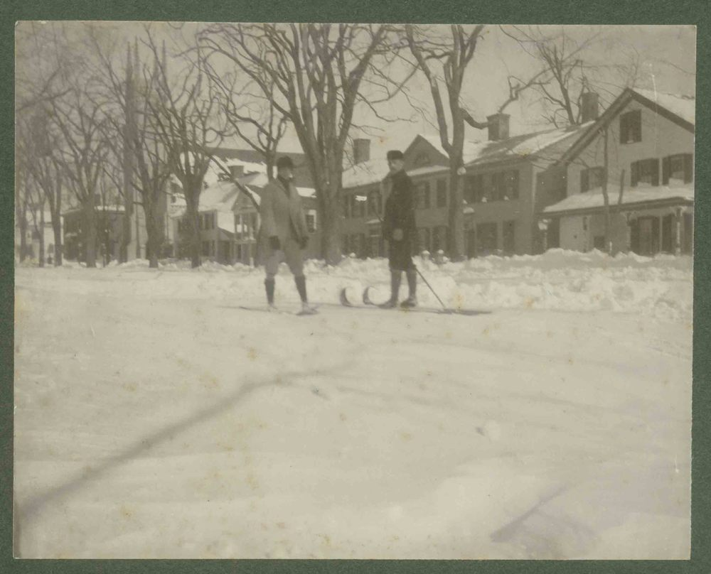 """Winter 1900,"" Litchfield.    Collection of the Litchfield Historical Society, Litchfield, Connecticut"