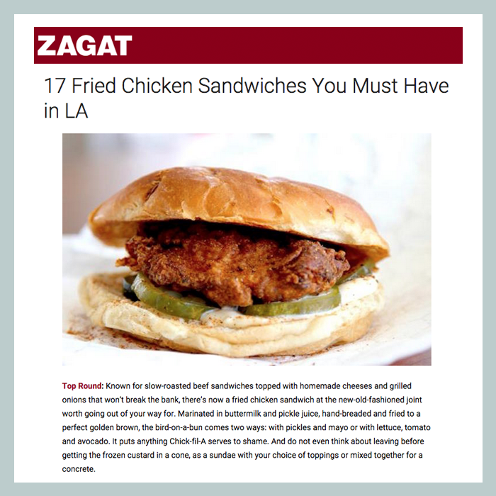 Source: Zagat
