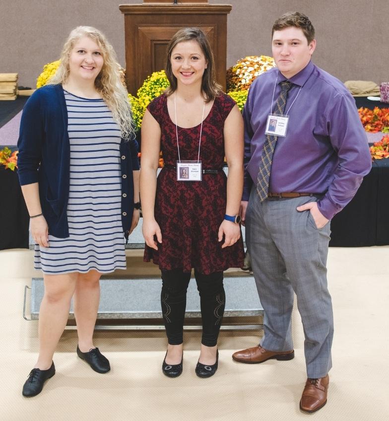 Class of 2013 ~ Victoria Quigley, Katie Shireman, Jonathan Stefonek