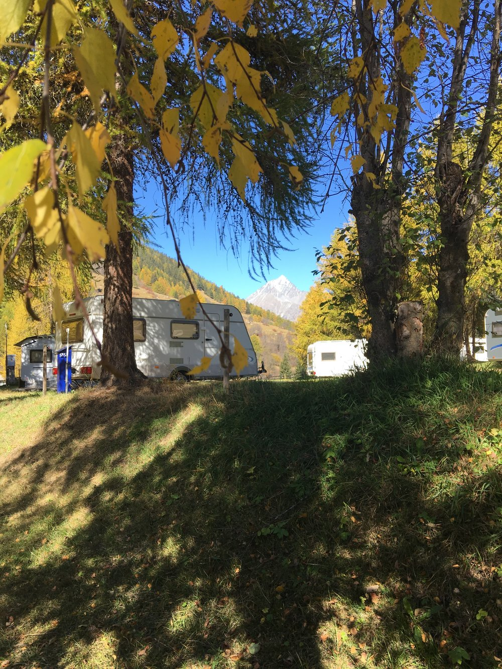 Herbst Camping Cul