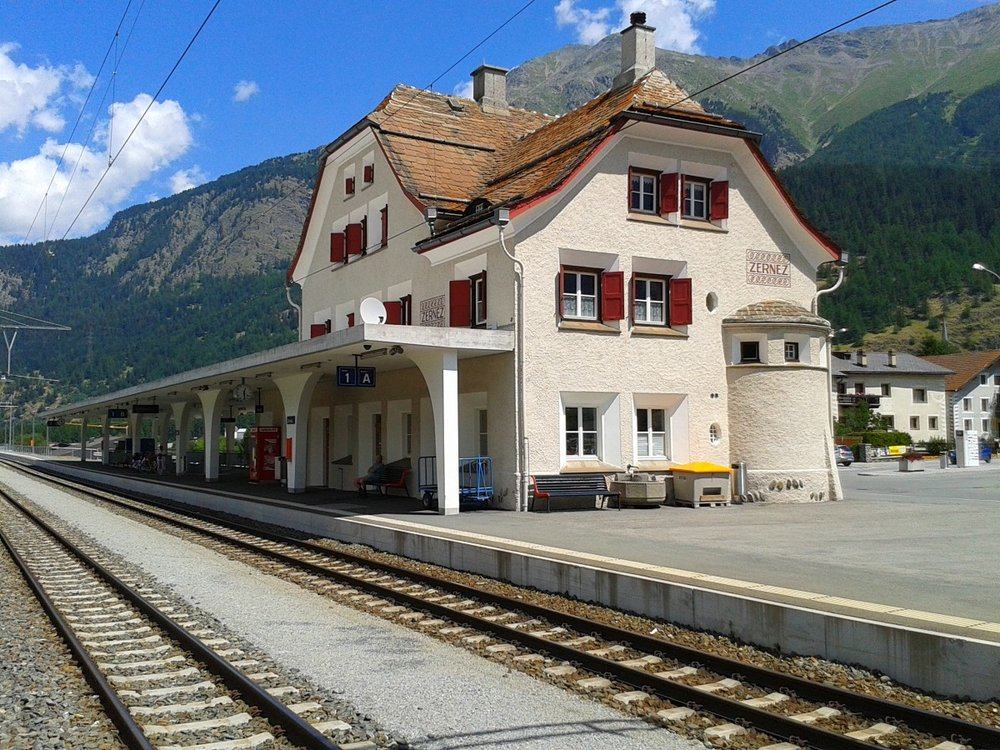 Bahnhof Zernez