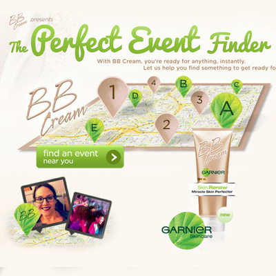 GARNIER BB Social Media and Experience Design