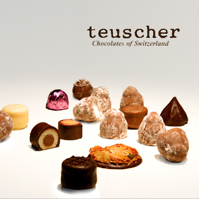 TEUSCHER CHOCOLATE Website Design and Development, eCommerce, Photography
