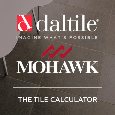 2015: A branded tool calculator for the leading distributor of ceramic tile and natural stone
