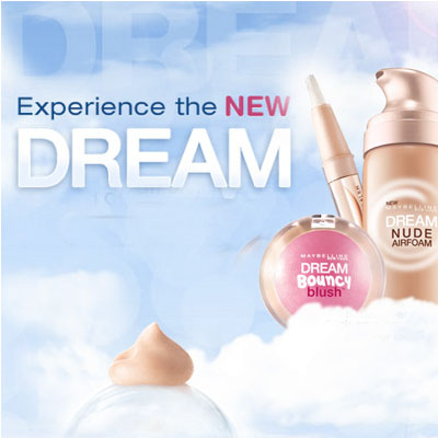 MAYBELLINE DREAM Facebook App