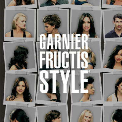 GARNIER STYLE FINDER AND HAIR GENIUS Branding and Website