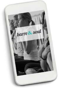 Barre & Soul® Mobile App