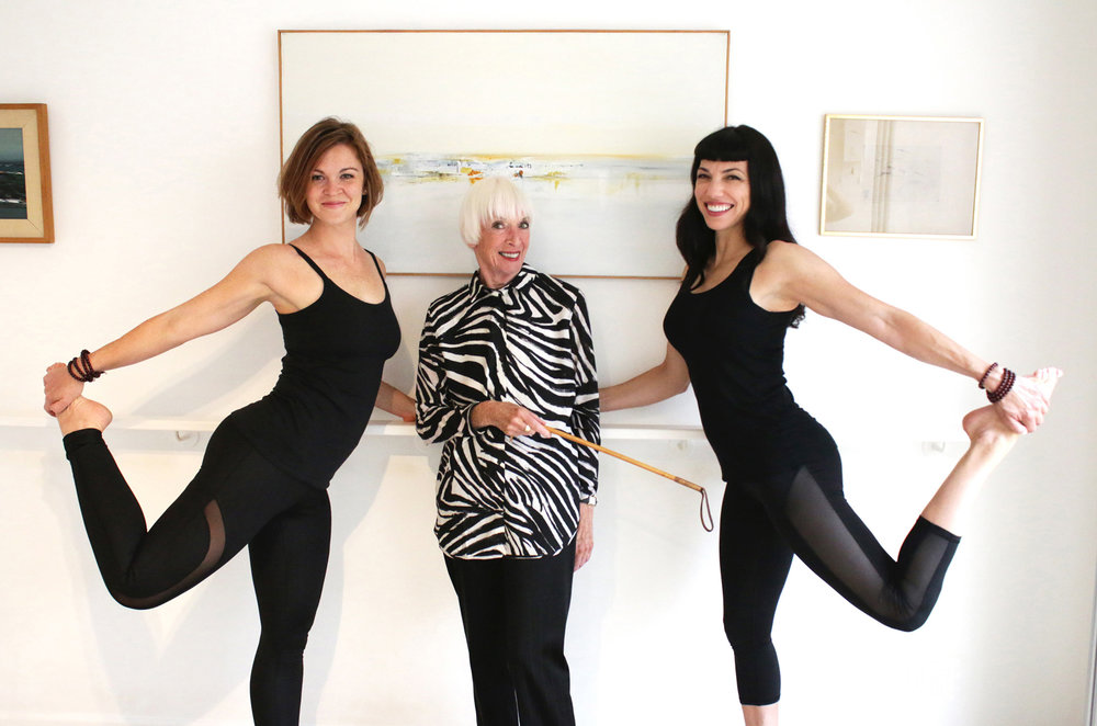 The Lotte Berk Barre Method with Esther Fairfax