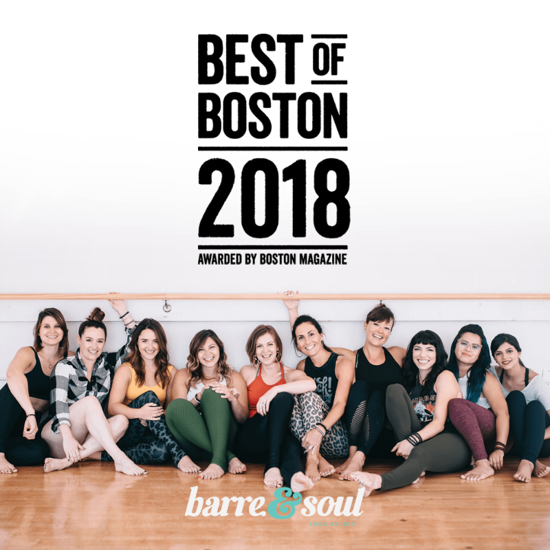 Best Barre Studio Boston 2018 Boston Magazine