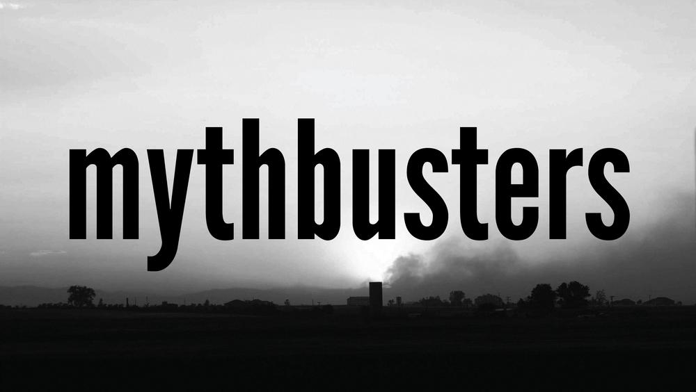 Mythbusters Sermon Series Jan 27 - Mar 3, 2013