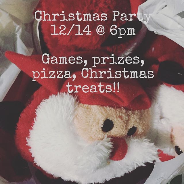 Do NOT miss out tomorrow! We are gonna have a BLAST celebrating Christmas with you guys! Being a friend, come hungry!! Lots of special goodies tomorrow just for you!!