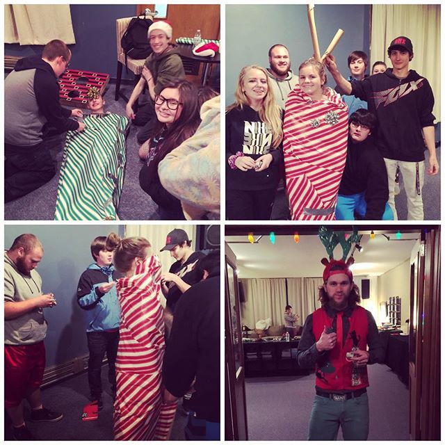 That's a wrap for youth group for 2016!! See you all in January for some more fun! Merry Christmas and have an awesome break!