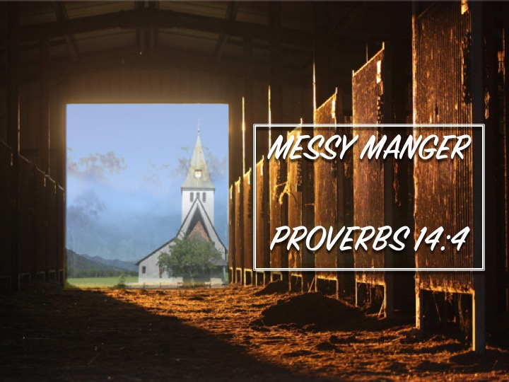 Messy Manger — First Baptist Church