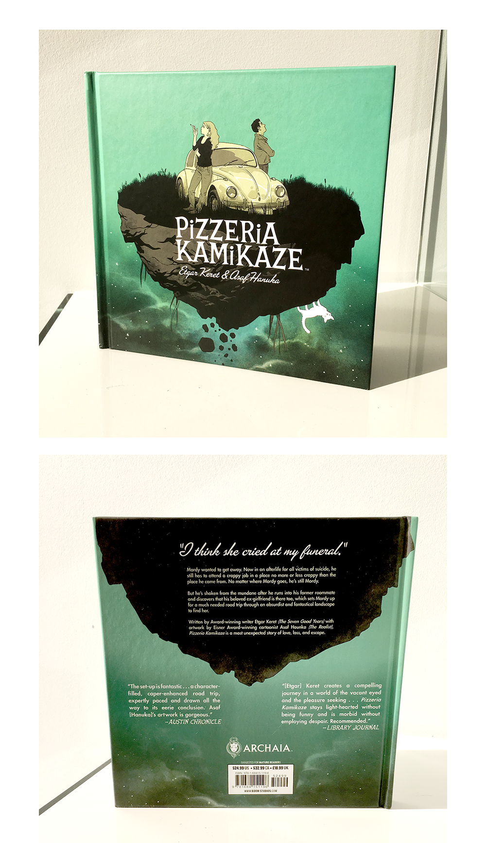 Pizzeria Kamikaze Book Design
