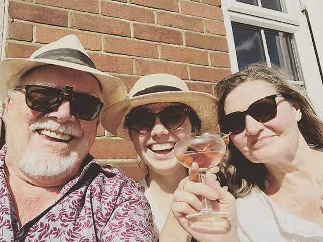 Homemade Manhattans in London  with the lovely folks- Nyc miss you but London you're the tops... - - -  #medincine #takingcareoftheolefolks