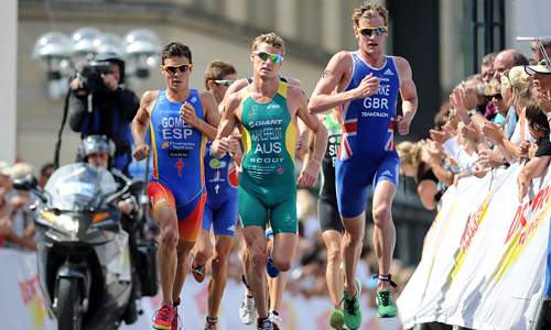 Example of function over fashion: Men's triathlon – Does the job, but not very nice to look at. Image courtesy of: http://triathlonulaval.com.