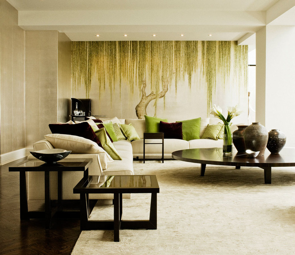 """Willow"" pattern, photo courtesy of  www.degournay.com"