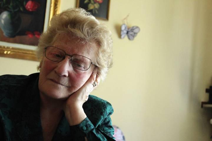 Romana Blasotti Pavesi, em seu pequeno apartamento na cidade italiana de Casale Monferrato, em imagem de 2012, quando ela ainda não tinha começado a esquecer.JOÃO LUIZ GUIMARÃES