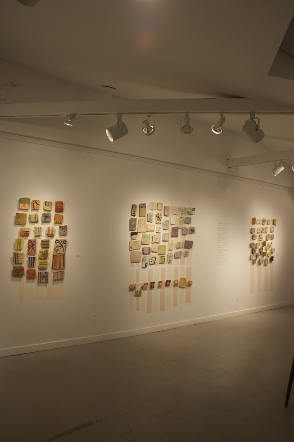 installation view, gallery