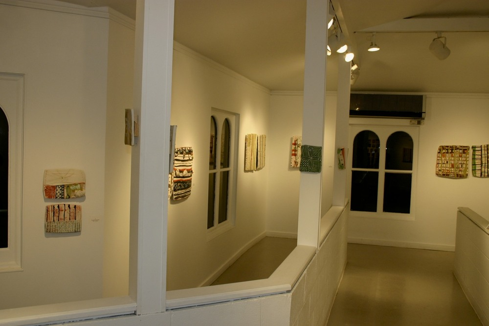 gallery, installation view