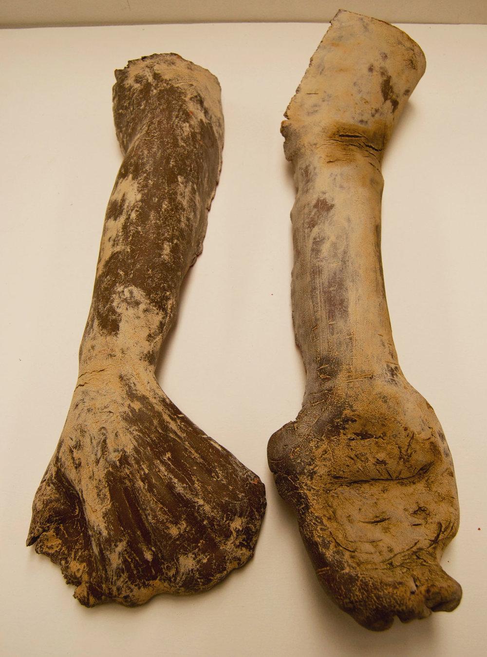 clay sculpture hand arm uconn.jpg