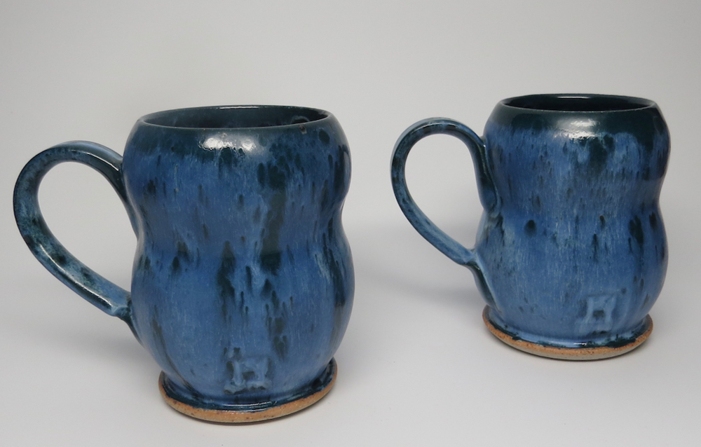 Advanced Studio Ceramics Student Work - White Stoneware, Cone 10 Reduction