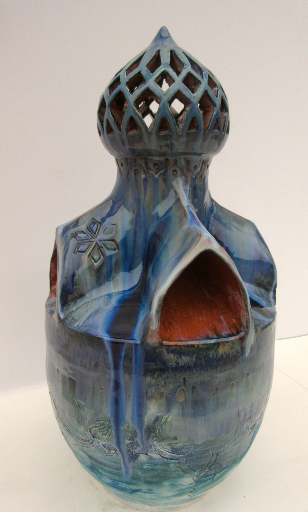 Ceramics 1 Hand Building Student Work - Earthenware, Cone 04 Oxidation