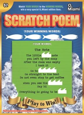 Scratch & Win — O, Miami