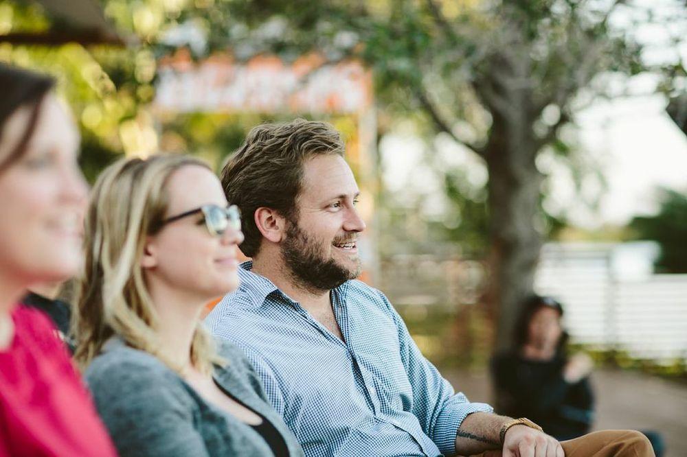 O, Miami founder Scott Cunningham with fiancée Christina Frigo (photo courtesy of Gesi Schilling).