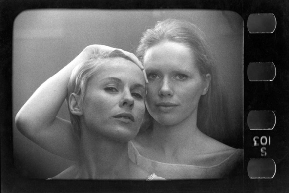 Still from  Persona , directed by Ingmar Bergman.