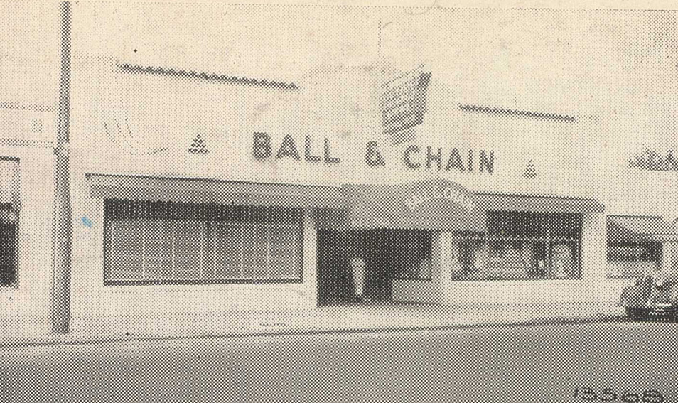 The original Ball & Chain