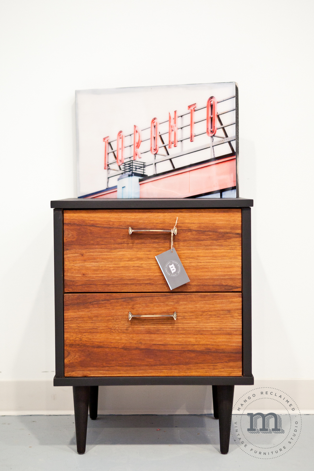 39 mad men 39 restyled side table mango reclaimed for Table 52 2014