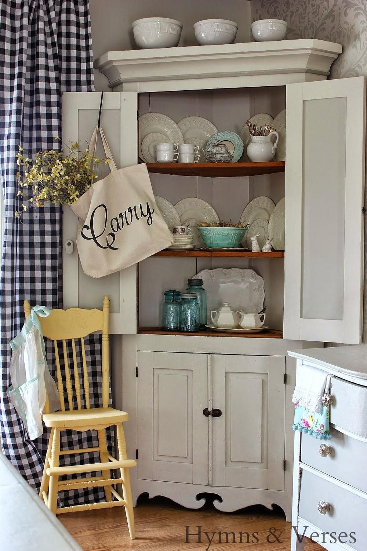 Corner Cabinet Spring