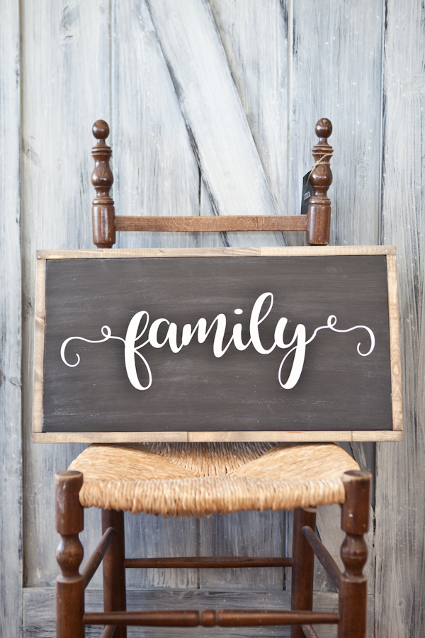 Fusion Rustic Sign - Family