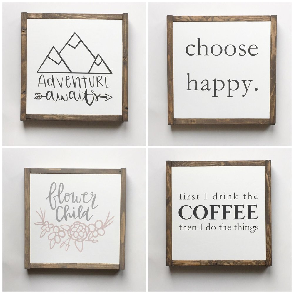 2 for 1 custom painted signs - Wednesday May 23rd, 5:30-8pm