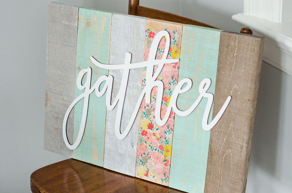 Barn board Decoupaged Signs - Wednesday June 6th, 5:30-8pm