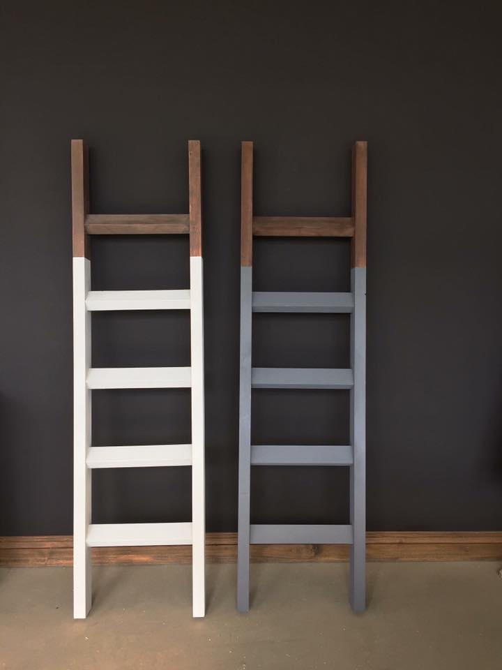 Blanket ladder - build and paint workshop. Sat Feb 2nd, 10am-2pm.