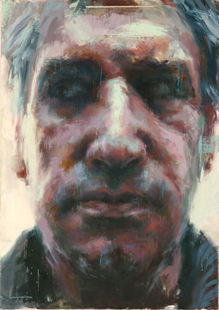 "Jean . 2006, 20"" x 28"", (50 x 70 cm) oil on canvas"