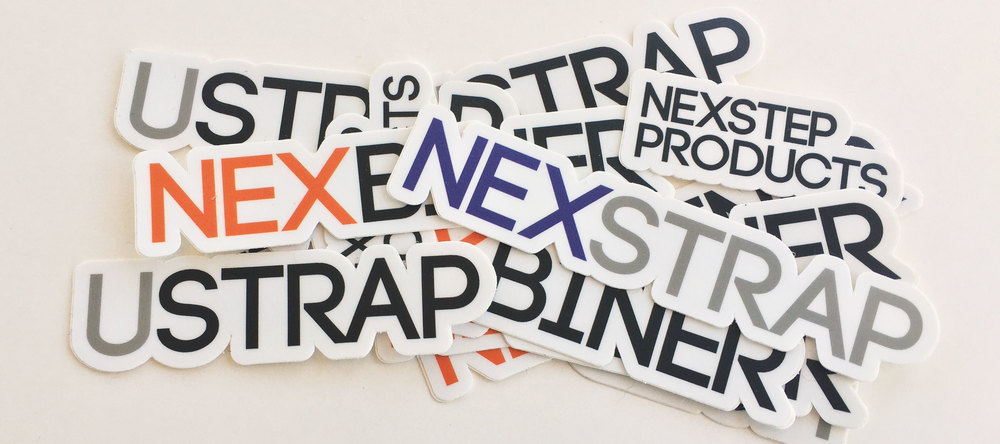 Nexstrap Branding - Sticker Designs - KLN Design